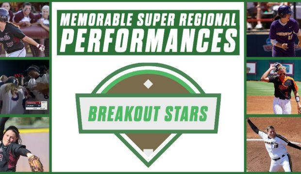 Memorable Super Regional - Breakout Stars