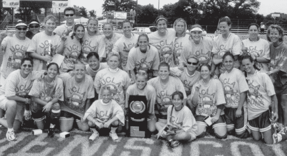UCLA 1999 Softball Team