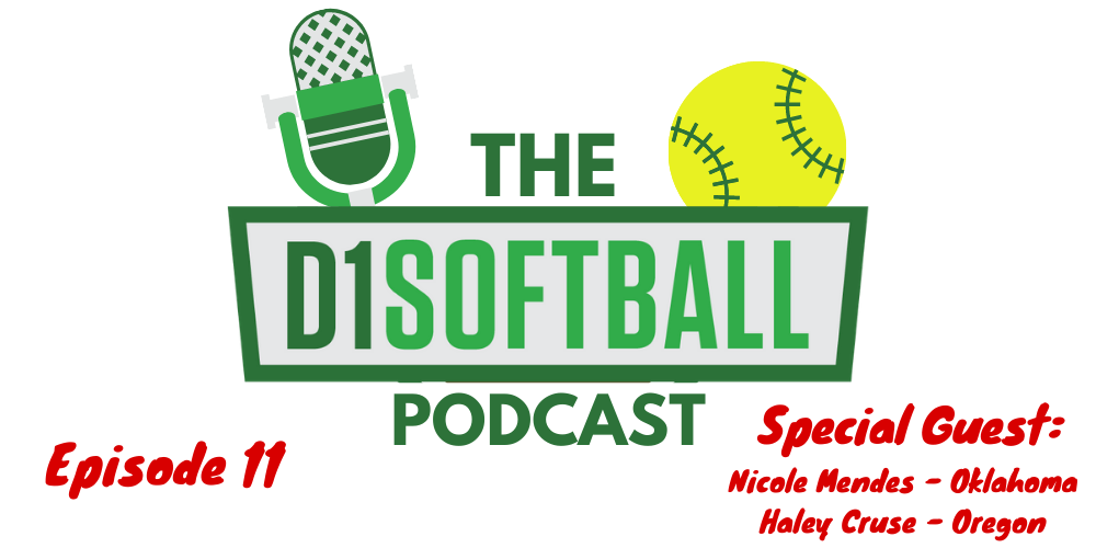 D1Softball Podcast Graphic